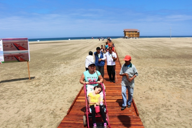 Playa El Murciélago de Manta.