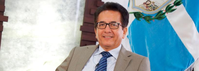 Jorge Zambrano Cedeño, alcalde del Cantón Manta. Manabí, Ecuador.