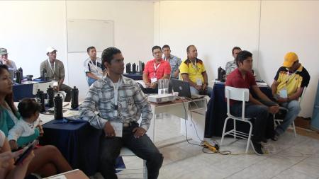 Curso de paralimpismo para instructores de educación física de Manta. Manabí, Ecuador.