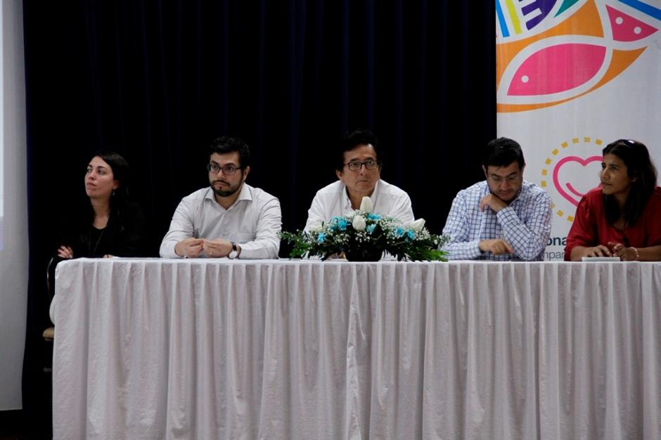 Mentores y patrocinadores del plan En Marcha para microempresarios de Manta. Manabí, Ecuador.