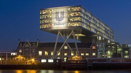 Edificio sede de Unilever en Róterdam, Holanda.