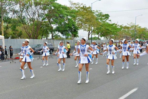 Desfile cívico.