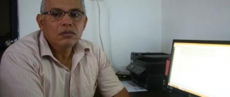 El director de planificación del GAD cantonal de Montecristi, arq. Enrique Vélez. Manabí, Ecuador.