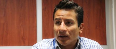 Marcos Espinoza, jefe de la UNASER municipal de Manta. Manabí, Ecuador.