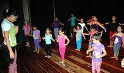 Del curso de danza realizado el año 2016.