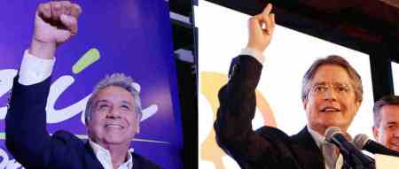 Lenín Moreno y Guillermo Lasso, competirán por la elección de presidente ecuatoriano 2017-2019. Foto: semana.com, tomada del banco de imágenes de Google.