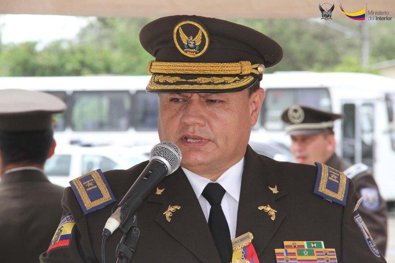 Resultado de imagen para pablo rodriguez POLICIA ECUADOR