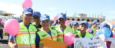 Mujeres de Manabí celebran su Día Internacional en Portoviejo. Manabí, Ecuador.