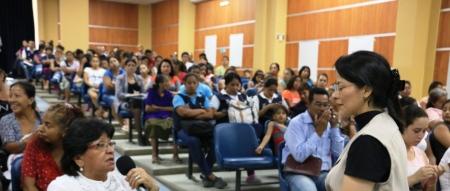 Taller psicoeducativo para motivar la prevención de actos de violencia doméstica. Patronato municipal de Manta. Manabí, Ecuador.