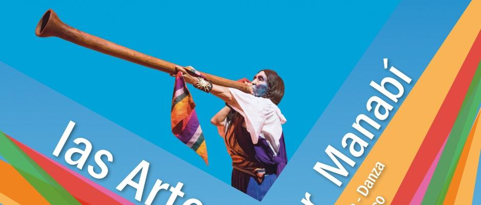 Parte del afiche Las Artes por Manabí.