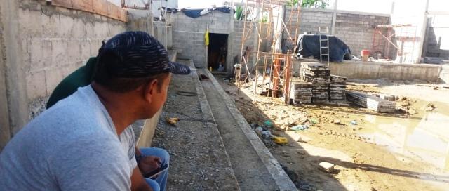 Parque en construcción en la Comunidad Los Ángeles de Montecristi. Manabí, Ecuador.
