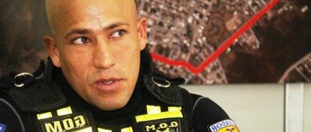 Policía y fisiculturista José Palma. Manabí, Ecuador.
