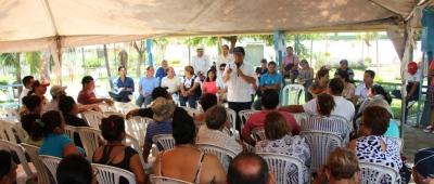 Habitantes de Tarqui, Manta, reclaman mejor atención del GAD municipal y del Gobierno nacional. Manabí, Ecuador.
