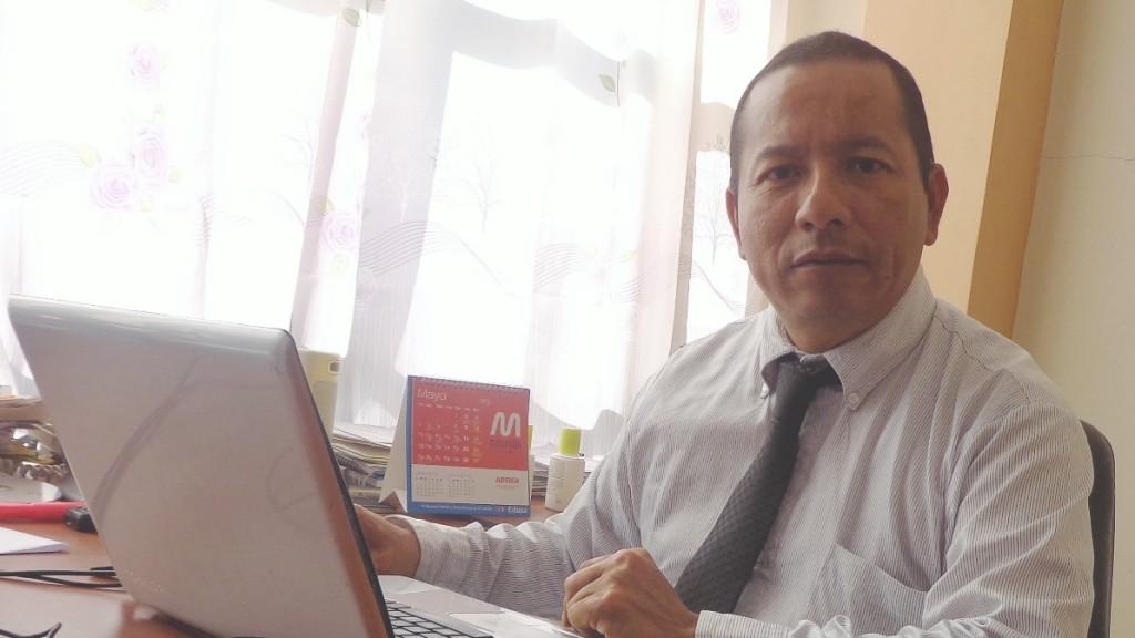 Periodista Jhonny Arcadio Mero Cedeño. Manabí, Ecuador.