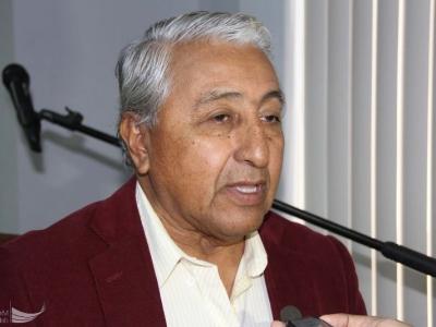 Joselías Sánchez Ramos, presidente de la Junta de Vecinos de la Zona Cero Tarqui de Manta. Manabí, Ecuador.