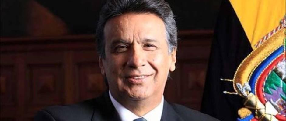 Lenín Moreno Garcés (Foto de confirmado.com, tomada del banco de imágenes de Google).
