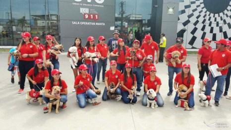Clausura curso canino, equipo rojo