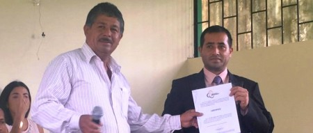 Dany Daniel Loor Castro, juez de paz de la Parroquia Zapallo del Cantón Flavio Alfaro. Manabí, Ecuador.