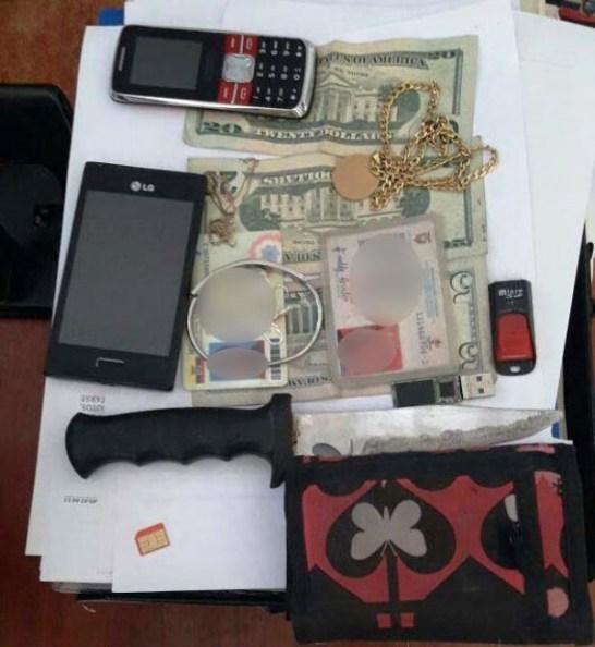 Evidencias de robo en Barrio Jocay, 3