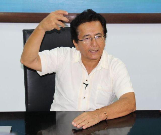 Alcalde de Manta, Jorge Zambrano Cedeño. Manabì, Ecuador.