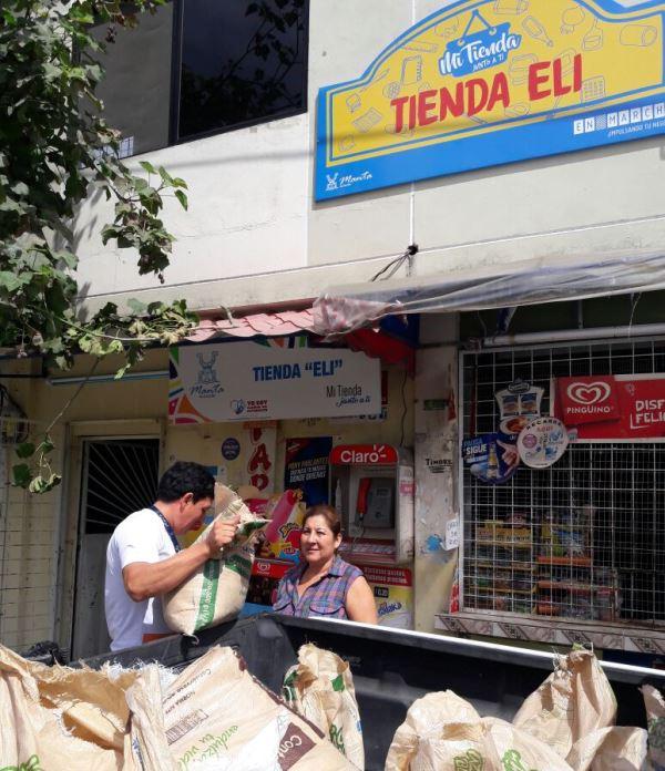 Tienda Eli, Barrio La Victoria de Tarqui, Manta. Manabí, Ecuador.