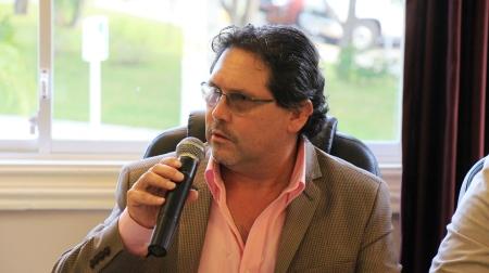 Enrique Ponce De León, ministro de Turismo. Manabí, Ecuador.
