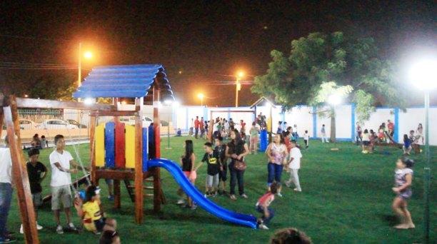 El área destinada a los niños.