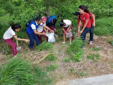 Es mejor no dejar basura en el cerro. La naturaleza se lo agradece.