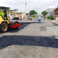 Calles de Manta que son mejoradas