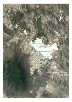 Mapa Parroquia Aníbal San Andrés