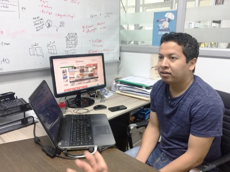 Web GAD Montecristi, webmaster