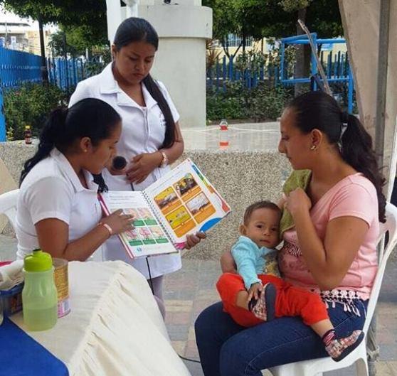 Lactancia materna, demostración