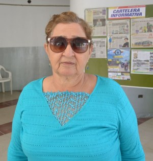 Marlene Mendoza, Pdta. Comité Mejoras Calle 10 Agosto, Chone
