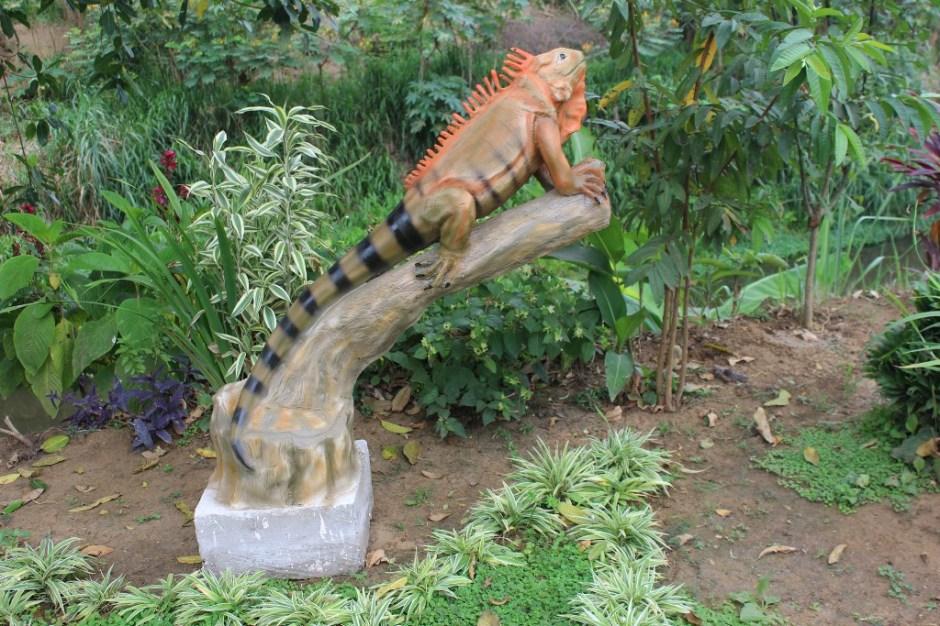 Escultura la Iguana