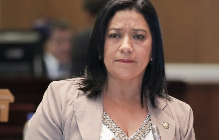 Karina Arteaga, asambleísta de la República por la provincia de Manabí, Ecuador.