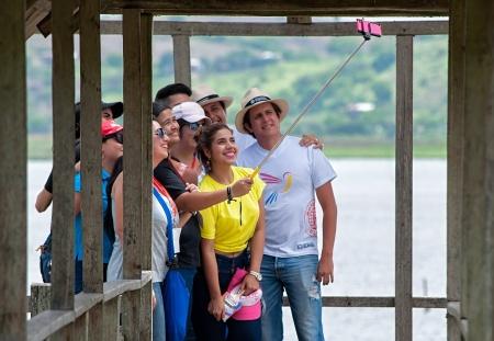 Promotores turísticos de Manabí.