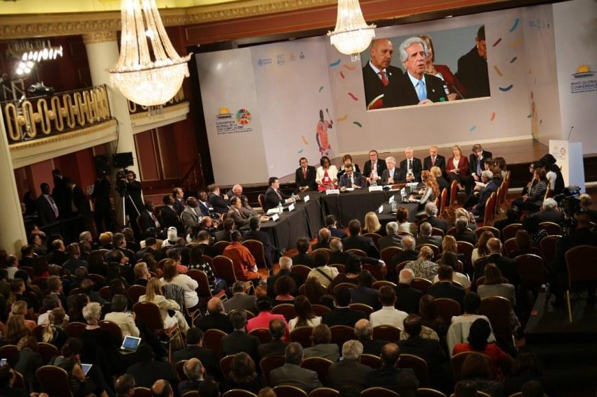 Conferencia de la OMS en Montevideo, Uruguay, sobre obesidad y enfermedades no transmisibles.