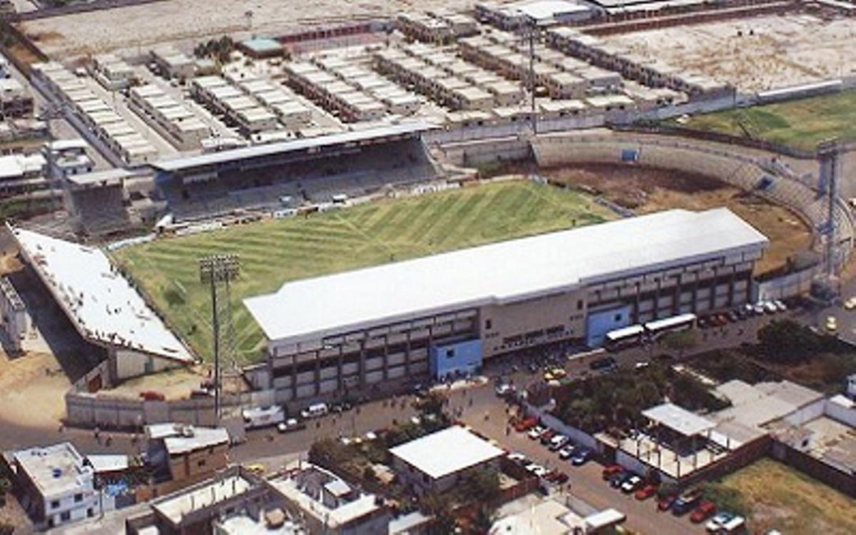 Estadio Jocay de Manta, vista aérea (Foto bajada del sitio web oficial de la Federación Ecuatoriana de Fútbol).
