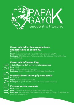 Programa del día jueves 26 de octubre.