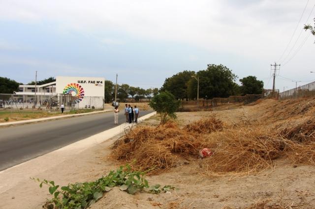 Terreno para reforestación en la ciudad de Manta, Manabí.