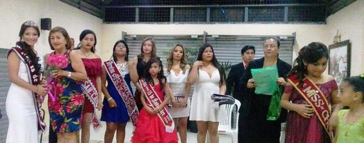 Reinas 2017 de la Asociación de Comerciantes La Bahía 15 de Noviembre de Chone. Manabí, Ecuador.