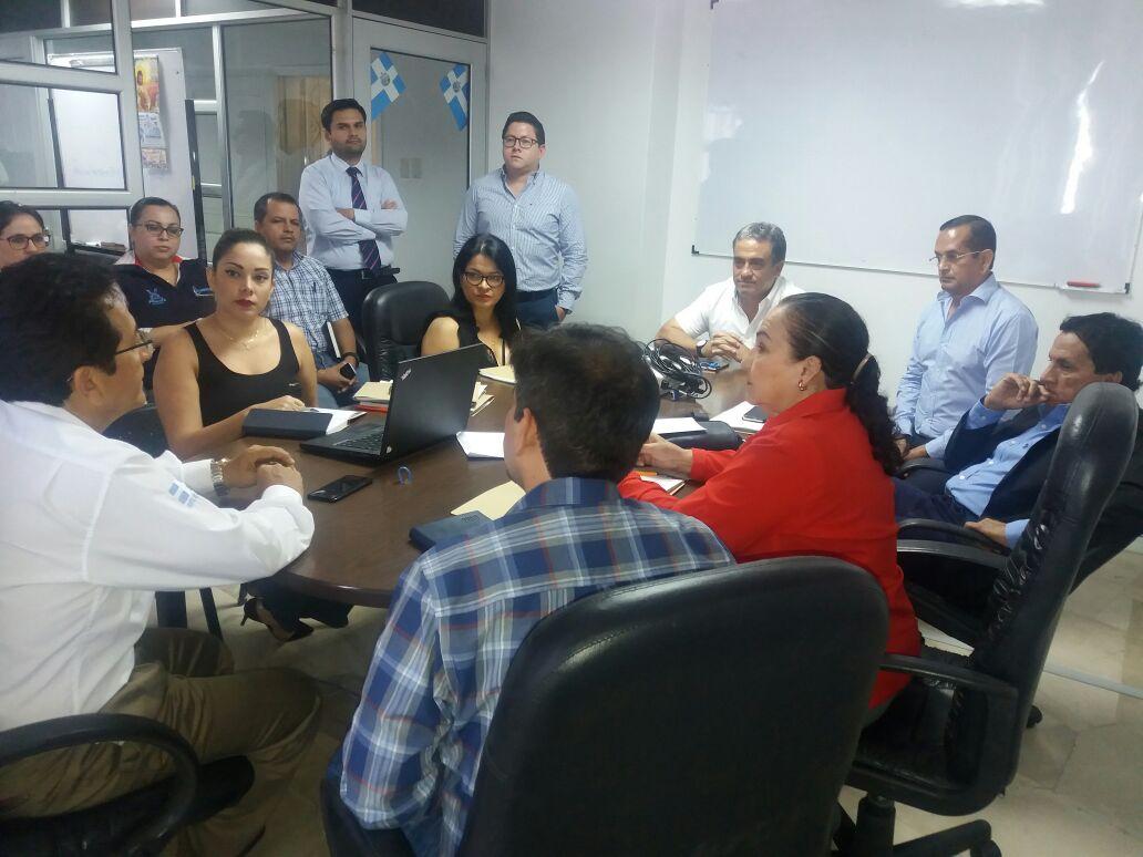 Dos nuevos técnicos de la EPAM se posesionaron ante el Directorio de esta empresa pública municipal de Manta. Manabí, Ecuador.