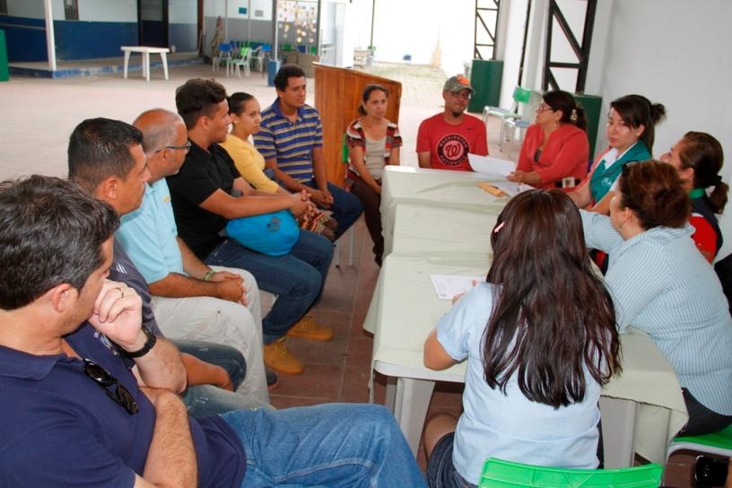 En Calceta revisaron la situación de los migrantes que viven dentro del Cantón Bolívar. Manabí, Ecuador.