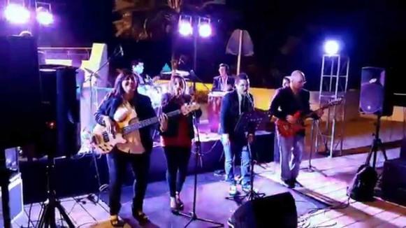 El celebrado Grupo Santhos, de Manabí.