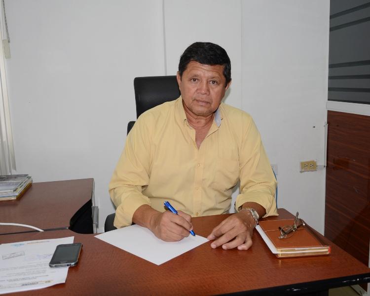 Director del departamento municipal de Deportes de Chone. Manabí, Ecuador.