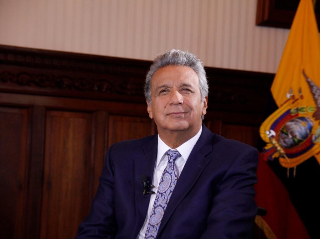 Lenín Moreno Garcés, presidente constitucional de la República del Ecuador.