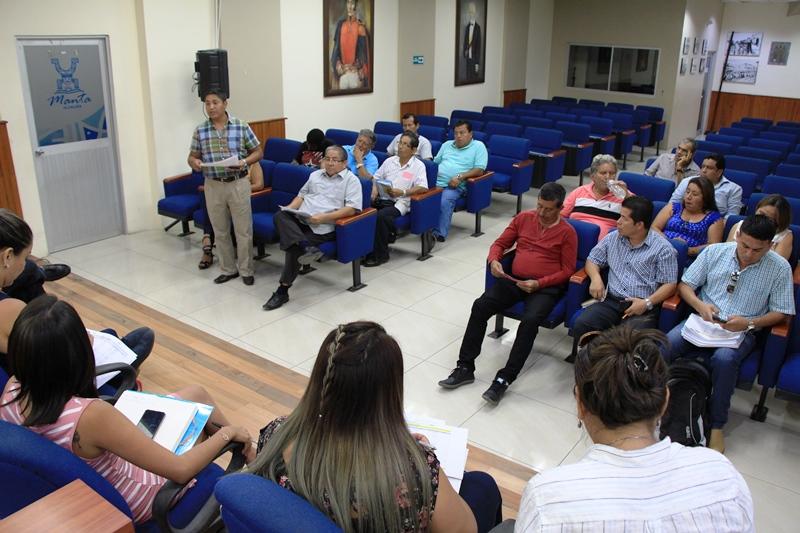 El Municipio de Manta rinde cuentas a sus mandantes de la Parroquia Urbana Eloy Alfaro. Manabí, Ecuador.