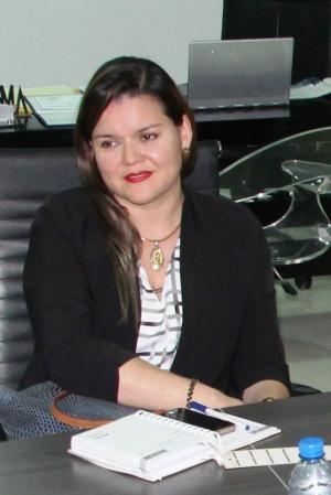 Rosalyn Basurto, directora municipal de tránsito de Manta. Manabí, Ecuador.