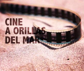 Arte publicitaria de Cine a orilla del mar