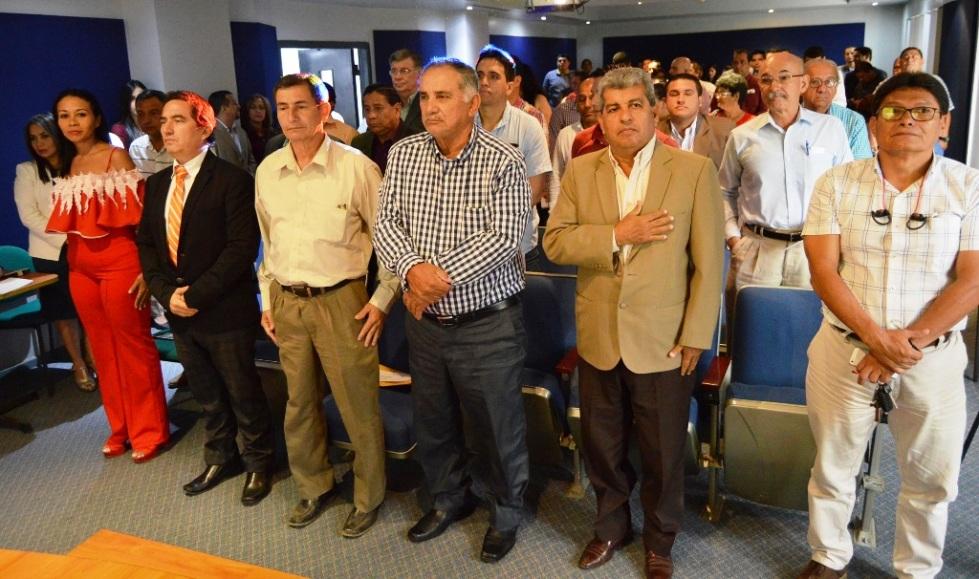Ceremonia oficial rendición cuentas BDE Manabí